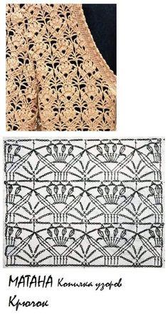35 Ideas For Crochet Stitches Symbols Free Pattern Crochet Motif Patterns, Crochet Diagram, Crochet Chart, Thread Crochet, Filet Crochet, Crochet Designs, Crochet Baby, Knitting Patterns, Knits
