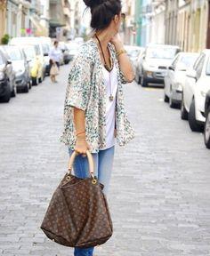LE CATCH: the kimono jacket...summer style
