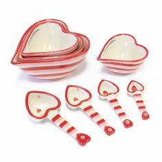 temp-tations® Hugs & Kisses Heart-Shaped Measuring Set :: temp-tations® by Tara
