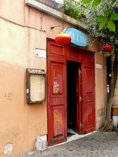 #rome #trastevere #red #chinese #restaurant #multiculturalism