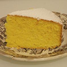 torta paradiso ricetta di Maurizio Santin Torta Chiffon, Traditional Cakes, Little Cakes, Bakery Cakes, Almond Cakes, Vegan Desserts, No Bake Cake, Vanilla Cake, Baking Recipes