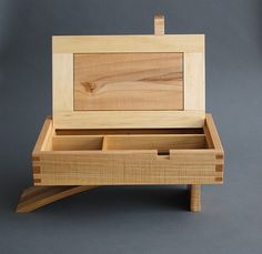 Cantilever Jewelry Box - Reader's Gallery - Fine Woodworking