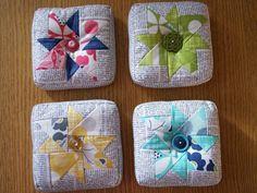 Pinwheel Pincushion | Craftsy
