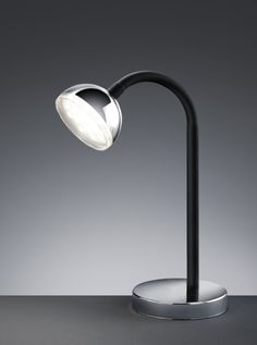 572810106 Trio - stolná LED lampa - plast-chróm - 350mm