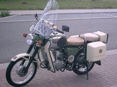 MZ TS 250 Funkkrad der Volkspolizei (The people's police radio Krad)