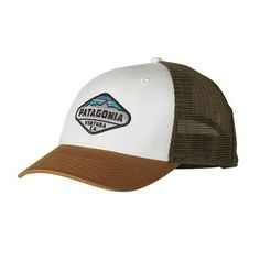 c34cace298a Fitz Roy Crest LoPro Trucker Hat Patagonia Hat