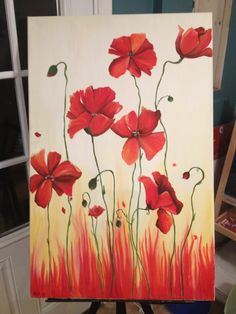 My fire poppies!