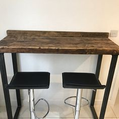 Reclaimed Industrial Chic Seater Extending Dining Table - Bar Cafe Restaurant Muebles Acero Madera Maciza Metal Hecho a Medida 104 Sheffield, 12 Seater Dining Table, Glass Dining Table, Furniture Care, Rustic Furniture, Furniture Design, Wood Steel, Wood And Metal, Bespoke