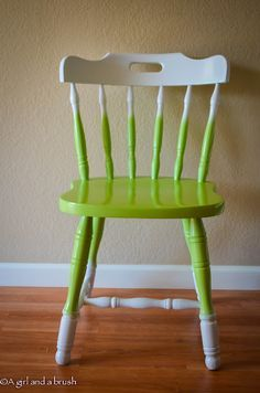 Painted Furniture On Pinterest Painted Chairs Dressers AndChairs ...