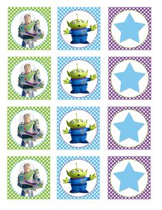 Free Toy Story printables