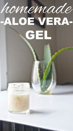 Learn how to make aloe vera gel at home. A zero waste burn treatment and for other beauty uses from www.goingzerowaste.com