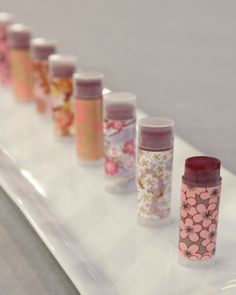 Learn to make your own all-natural red lip balm with this easy recipe from in-house crafter Kristin St. Her Homemade Lip Balm recipe. Homemade Lip Balm, Diy Lip Balm, Homemade Moisturizer, Lip Balm Recipes, Lip Balm Tubes, Homemade Cosmetics, Diy Spa, Natural Lips, Natural Red