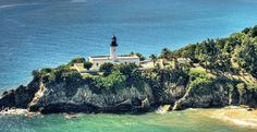 Lighthouse in Maunabo Puerto Rico