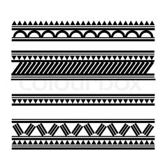 Stock vector ✓ 10 M images ✓ High quality images for web & print | Maori / Polynesian Style tattoobracelet