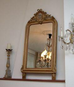 Kroonluchter Galerie » Antieke spiegel