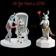 All you need is love and Design!!! Feliz Dia dos Namorados!!!! Chegar os novos produtos da Lladró!