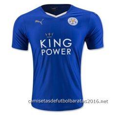 Camiseta tailandia Leicester City 2016 1ª equipación