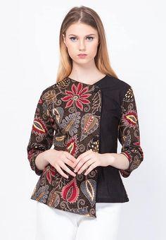 Kurta Designs, Kurti Designs Party Wear, Blouse Designs, Modern Hijab Fashion, Batik Fashion, Blouse Batik Modern, Dress Batik Kombinasi, Batik Couple, Saris