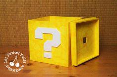 DIY Cartonnage : boîte Mario Bros en carton plume                                                                                                                                                     Plus