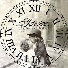 El tiempo pasa, pero el amor no