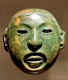 Máscara de Jade del Dios Totec