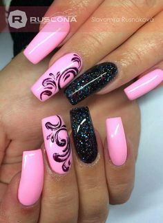 This one is by far my favorite style. Love it! This one is by far my favorite style. Love it! & The post This one is by far my favorite style. Love it! appeared first on Carcamy. Pink Nail Art, Cute Acrylic Nails, Acrylic Nail Designs, Pink Nails, Nail Art Designs, Fabulous Nails, Gorgeous Nails, Pretty Nails, Elegant Nails