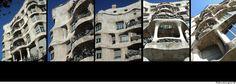 Casa Milà o La Pedrera, Barcelona (Antoni Gaudí) - © fabiosigns