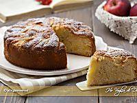 Torta di mele e yogurt soffice ricetta   Ho Voglia di Dolce