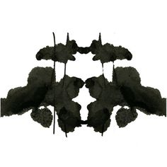 Rorschach Ink Blot Art print 8x10 no 6 by RubyMoonDesigns on Etsy, $15.00