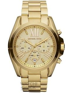 Reloj-Michael-Kors-MK5605-Para-Mujer-Chapado-En-Oro-0