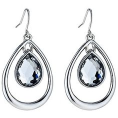 Fiorelli Teardrop Crystal Earrings - Product number 8848475 (£11.95)