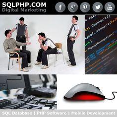 Digital Marketing Werbung SQLPHP.COM - SQL Database | PHP Software | Mobile Development | Software Projekt Management | Copenhagen Denmark
