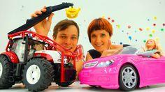МАШИНКИ! Барби и Маша КАПУКИ КАНУКИ в автосалоне! Видео с игрушками для ...