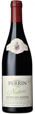 TOP 10 Organic Wines - Famille Perrin, 2011 Nature Cotes du Rhone, comes from a single vineyard near Orange that has full Ecocert status