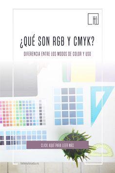 Diferencia entre una imagen en RGB y una imagen en CMYK. ¿Qué es un archivo en RGB? ¿Qué es un archivo en CMYK? Perfil de color. Modos de color. #rgb #cmyk #imprenta