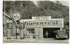 1920's era station