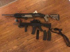 Tactical shotgun Remington 870