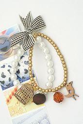 Songbird's Tweet Pearl Bracelet in Golden Acapella #bracelet #accessories #boutique