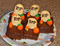 Halloween brownies | Michelle's Recipe Box