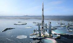 En 30 años, la ciudad de Tokio podría ser testigo de un momento clave para la historia de la arquitectura mundial: la inauguración del Sky Mile Tower, un edificio de unos 1.700 metros de altura.