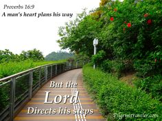 """Hong Kong.  Proverbs 16:9 """"A man's heart plans his way, But the Lord directs his steps""""  Scripture Photo"""