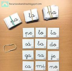 Recursos de Andrea: Sílabas para crear palabras