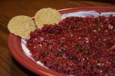 Cranberry Salsa #oammholiday