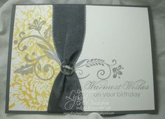 Stampin' Up! Birthday  by Lyssa Zwolanek at Song of my Heart Stampers