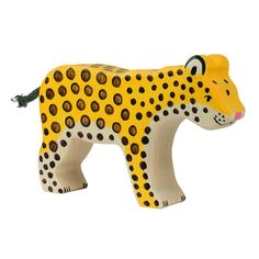 Amazon.com: Holztiger Wooden Leopard (New): Toys & Games