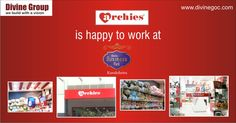 #Divine #Business #Park plays the proud host to many leading brands. International gift shop chain 'Archies' is one of them. It simply means you will surely find the heart touching gifts at this commercial complex. http://www.divinegoc.com/business-park/divine-business-park-overview.php
