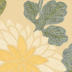 'Coco' printed fabric in 'Sand' colorway, part of the Chelsea Fabric Collection by Thibaut