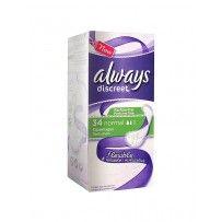 Always - serviette Discreet Normal - 34 Serviettes  couches pas cher