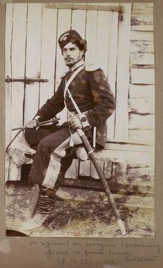 From the 1st Cossack regiment of Orenburg. c. 1892