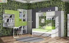 Teen Rooms, Loft, Bed, Furniture, Home Decor, Cold, Kid Spaces, Trendy Tree, Trends